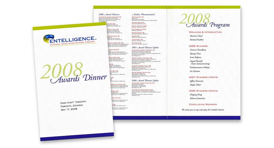 Dinner Program Agenda Awards Dinner Program